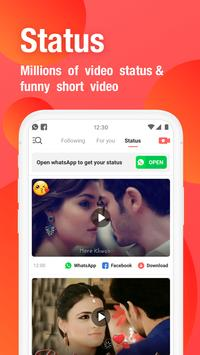 VMate Status - Video Status & Status Downloader स्क्रीनशॉट 1