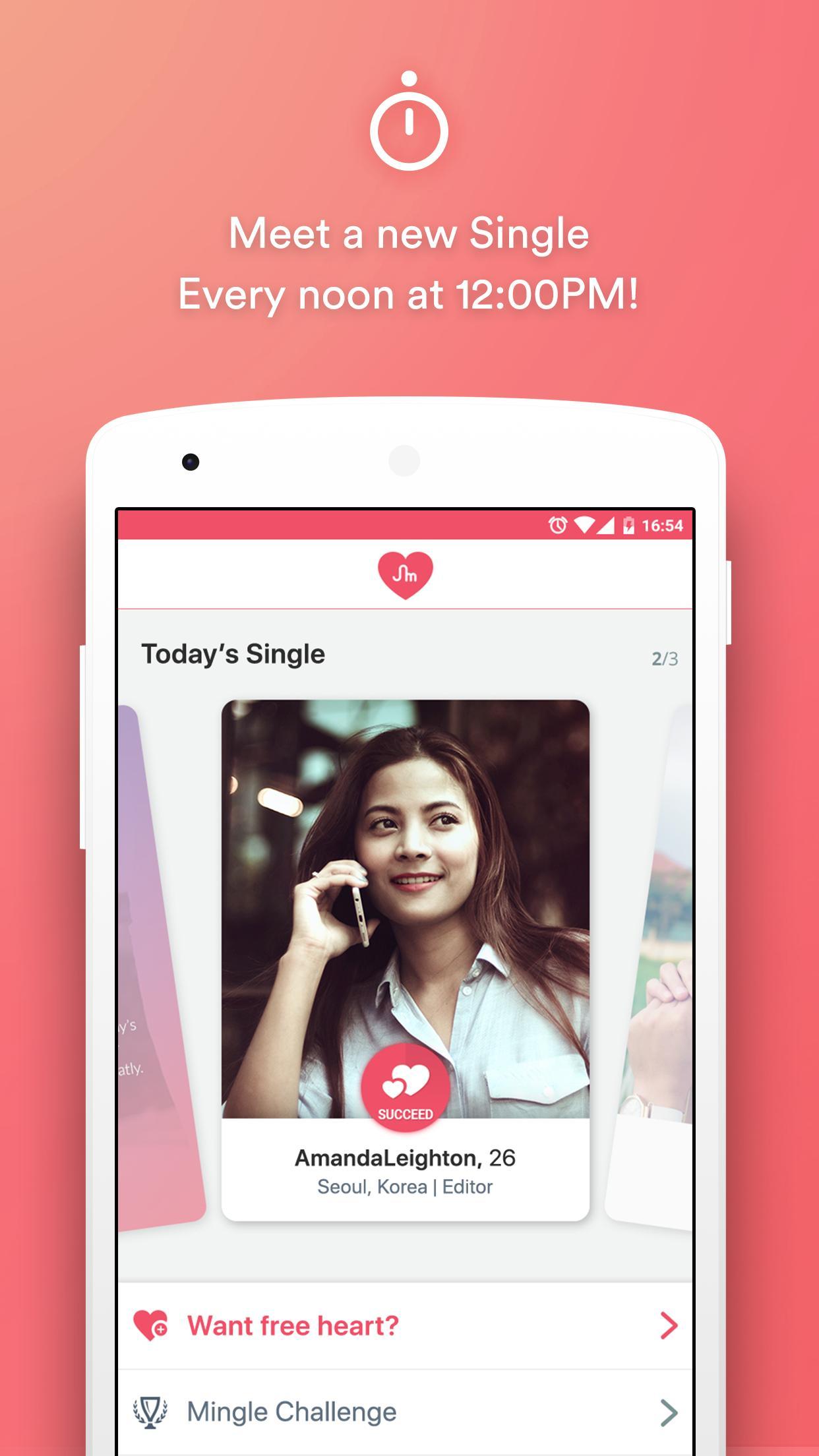 Mingle dating login