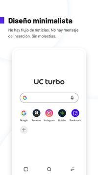 UC Browser Turbo - Descarga rápida, Seguro Poster