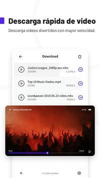 UC Browser Turbo - Descarga rápida, Seguro captura de pantalla 3