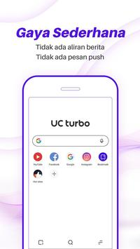 UC Browser Turbo - Unduhan Video Cepat, Aman poster