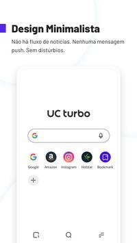 Navegador UC Turbo - Transferência rápida, Seguro Cartaz