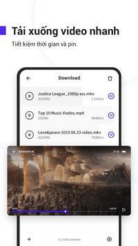 UC Browser turbo- Tải xuống video nhanh, an toàn ảnh chụp màn hình 1