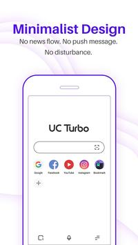 UC Browser Turbo - Fast download, Secure, Ad block poster