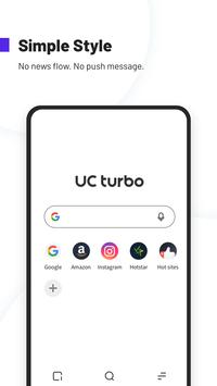 UC Browser Turbo- Fast Download, Secure, Ad Block Plakat