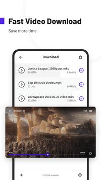 UC Browser Turbo- Fast Download, Secure, Ad Block screenshot 1