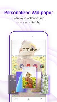 UC Browser Turbo - Fast download, Secure, Ad block screenshot 2