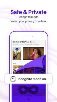 UC Browser Turbo - Fast download, Secure, Ad block screenshot 3