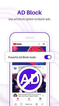 UC Browser Turbo - Fast download, Secure, Ad block screenshot 4
