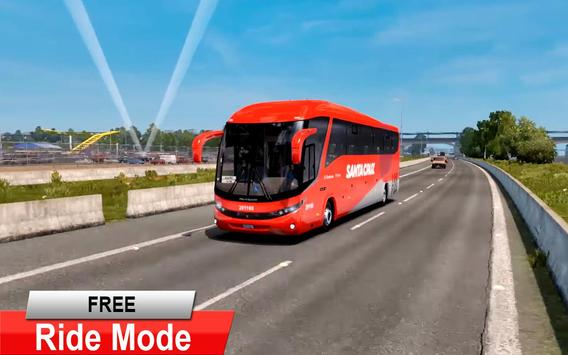 City Coach Bus Driving Simulator 3D: City Bus Game screenshot 16