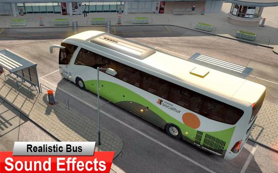 City Coach Bus Driving Simulator 3D: City Bus Game screenshot 10
