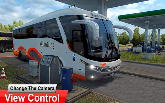 City Coach Bus Driving Simulator 3D: City Bus Game screenshot 20