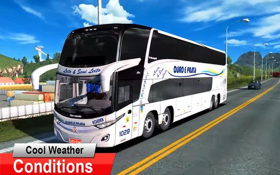 City Coach Bus Driving Simulator 3D: City Bus Game screenshot 4