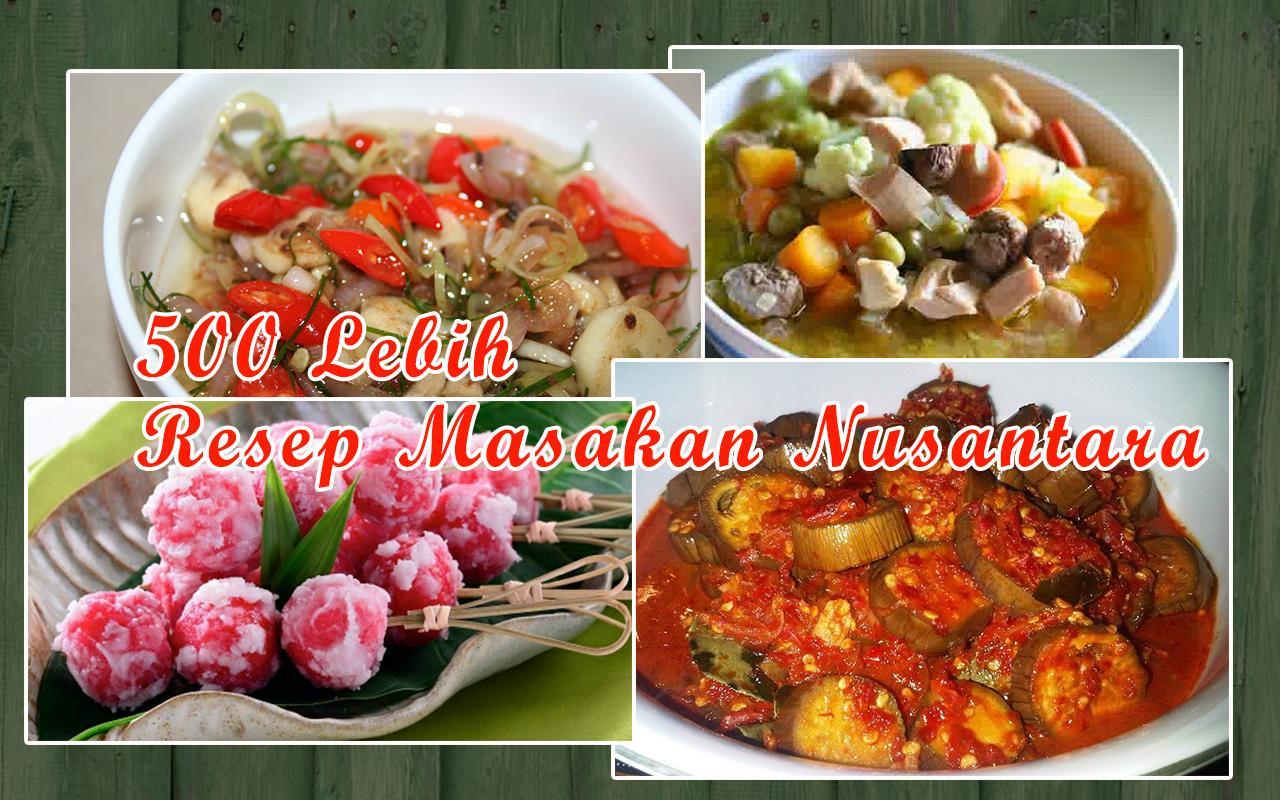 Resep Masakan Nusantara Offline For Android Apk Download