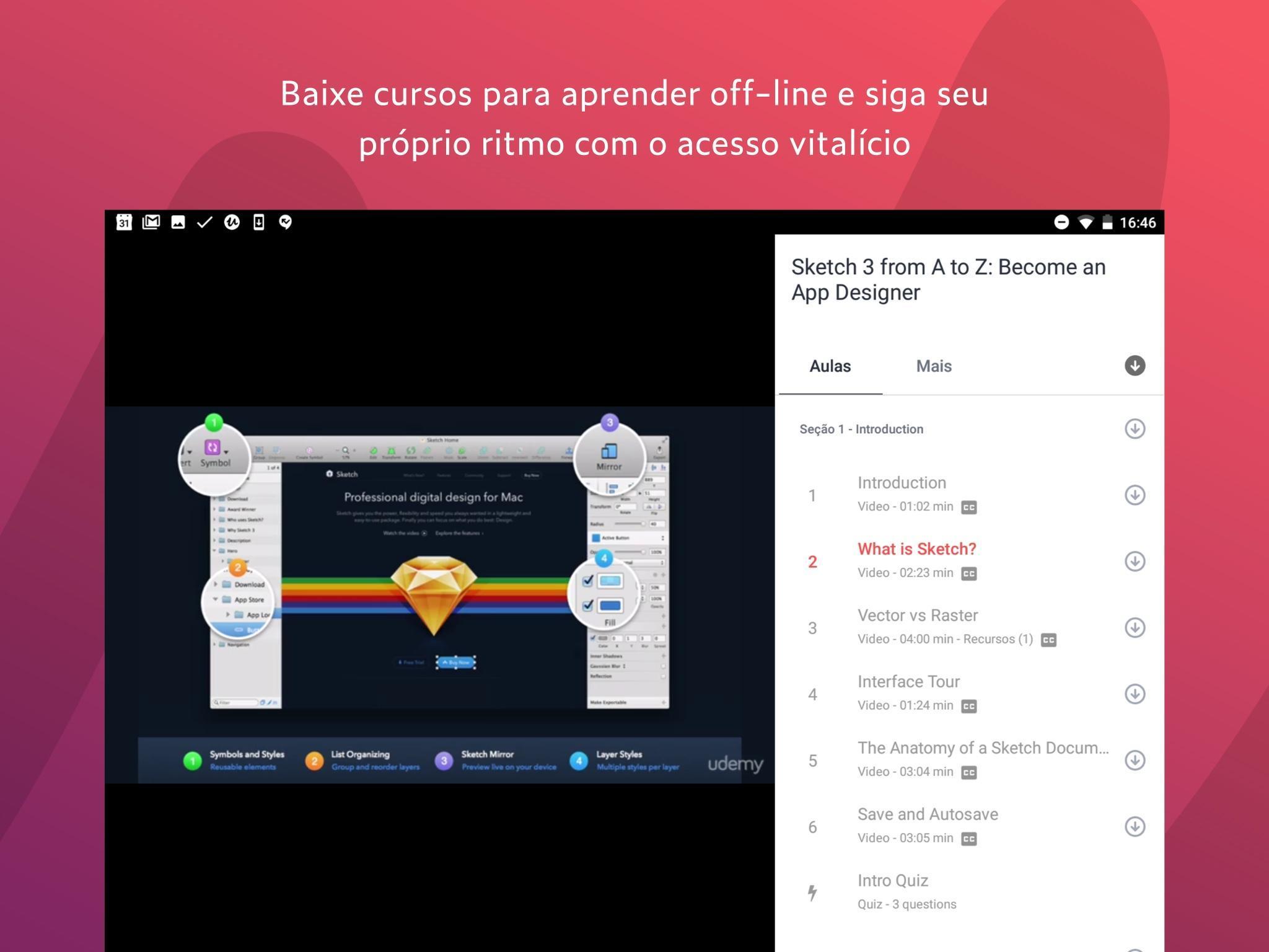 Udemy para Android - APK Baixar