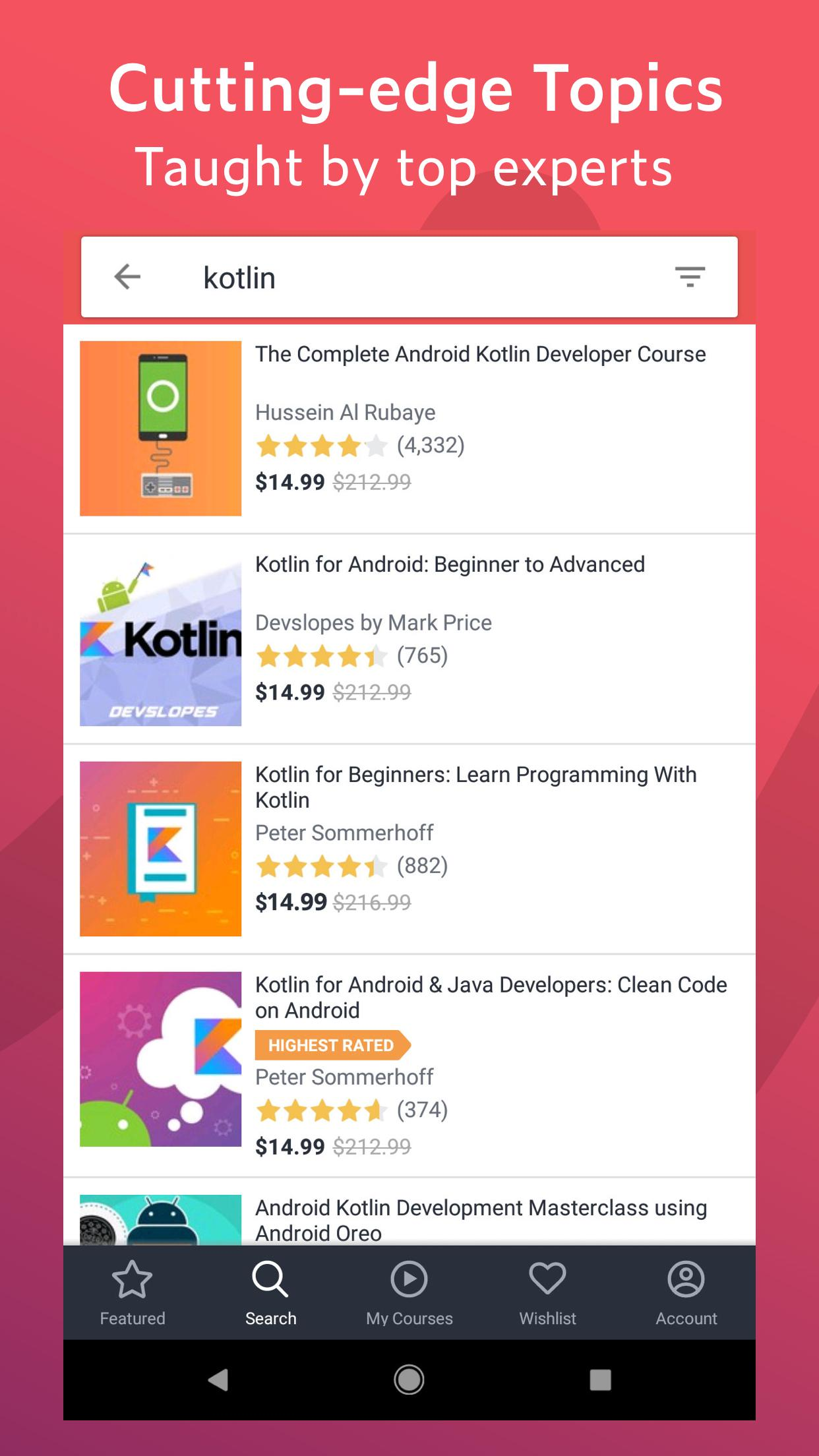 Udemy for Android - APK Download