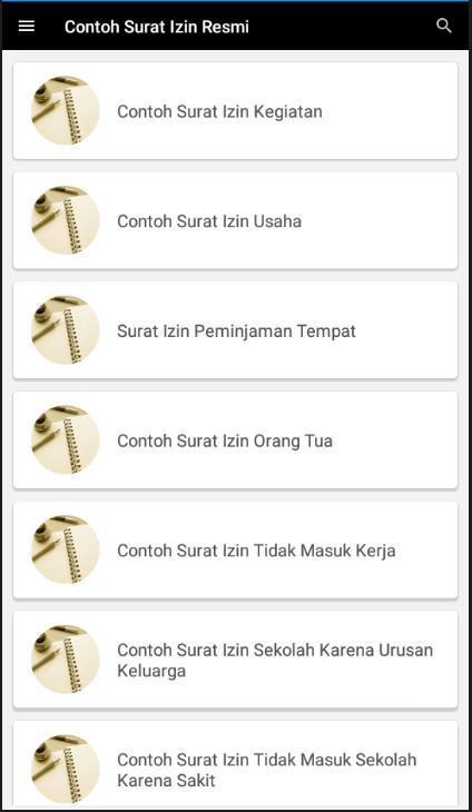 Contoh Surat Izin Resmi For Android Apk Download