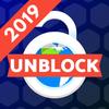 Desbloquear sitios: navegador proxy gratuito icono