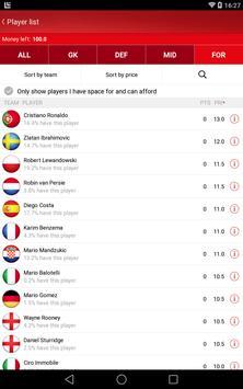UEFA Euro Qualifiers Fantasy screenshot 6