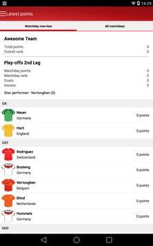 UEFA Euro Qualifiers Fantasy screenshot 8