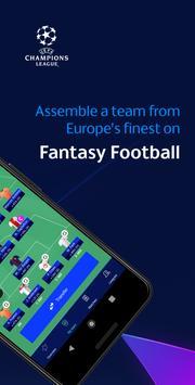 UEFA Champions League Games – ft. Fantasy Football تصوير الشاشة 1