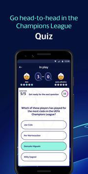 UEFA Champions League Games – ft. Fantasy Football تصوير الشاشة 5