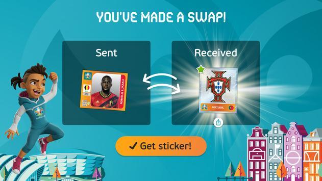 EURO 2020 Panini sticker album screenshot 4