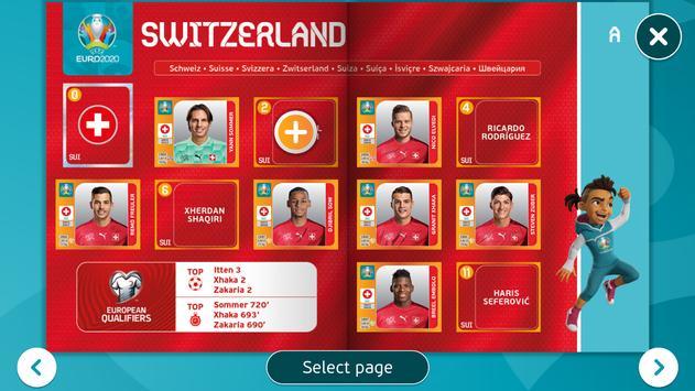 EURO 2020 Panini sticker album screenshot 13