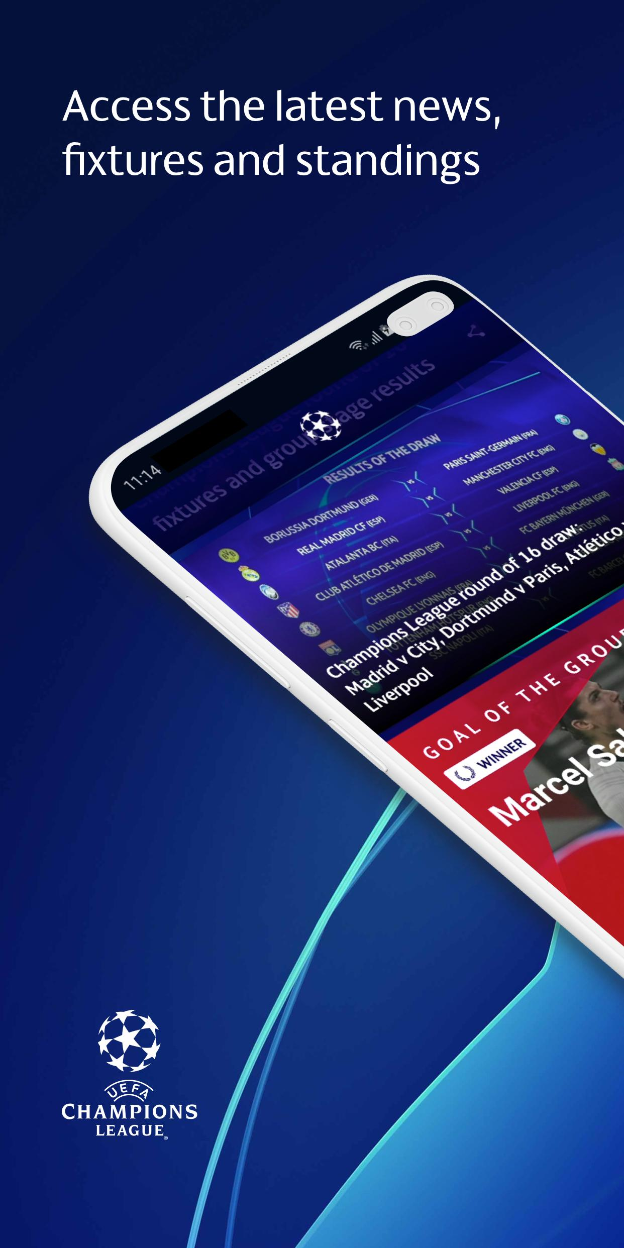 uefa champions league football live scores news for android apk download uefa champions league football live