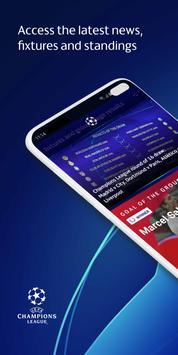 UEFA Champions League football: live scores & news الملصق