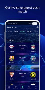 UEFA Champions League football: live scores & news 截图 2