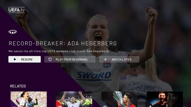 UEFA.tv screenshot 1