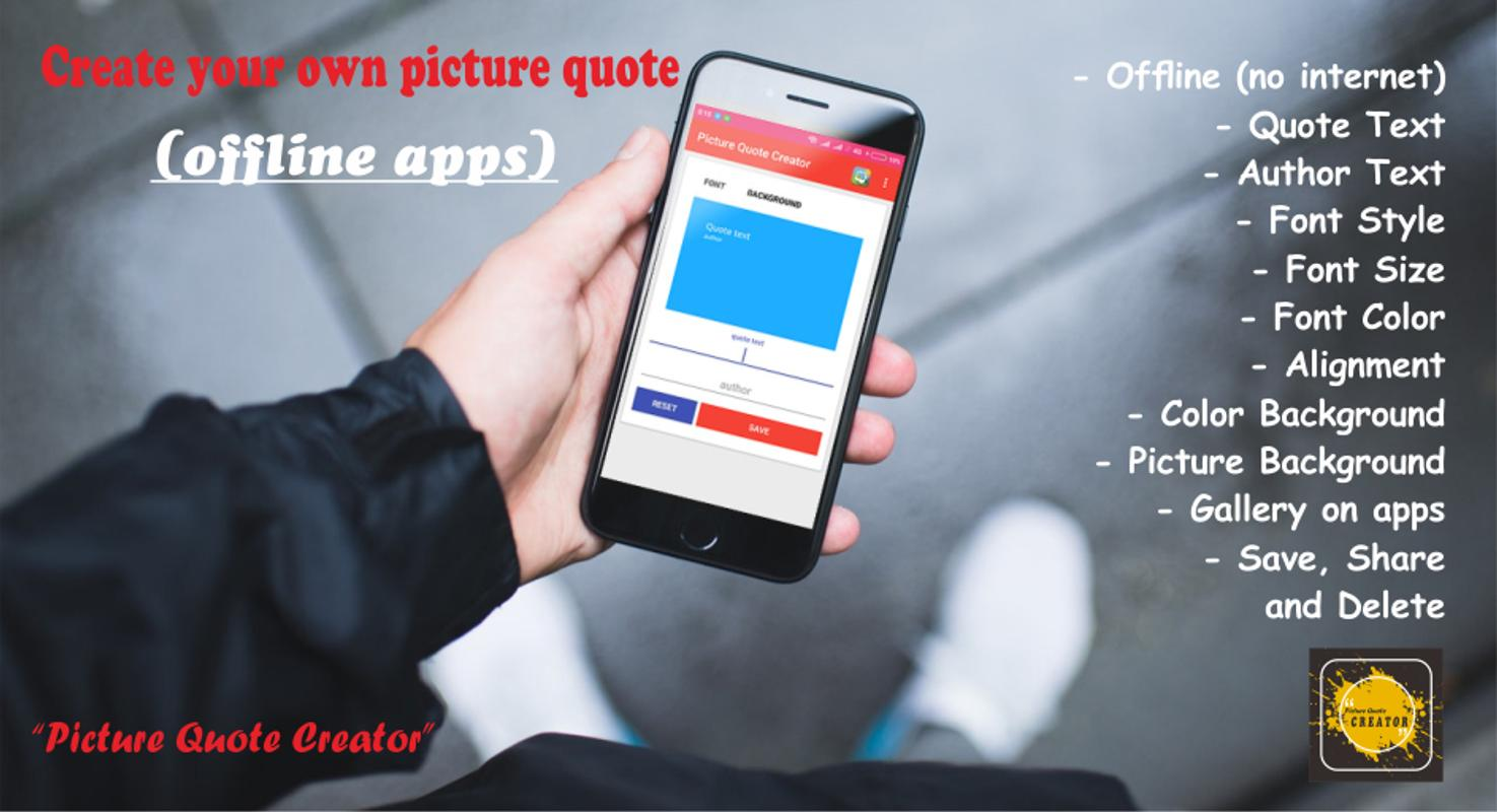 Picture Quote Creator Quotes Maker For Android Apk Download