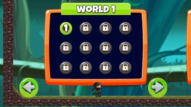 Ninja Kid vs Zombies screenshot 2