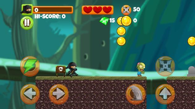 Ninja Kid vs Zombies screenshot 6