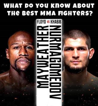 Khabib vs Mayweather MMA Quiz poster