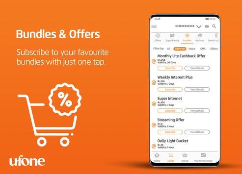 My Ufone captura de pantalla 5