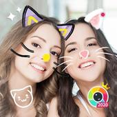 Sweet Face Camera - Live Face Filters for Snapchat icône