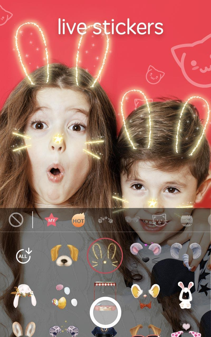 Sweet Face Camera - live filter, Selfie face app for Android