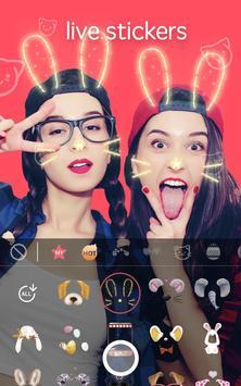 Sweet Face Camera - live filter, Selfie photo edit screenshot 1