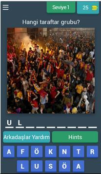 Hangi Taraftar Grubu : Futbol poster