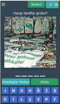 Hangi Taraftar Grubu : Futbol screenshot 3