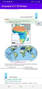 Geography Grade 12 Textbook for Ethiopia 12 Grade Poster