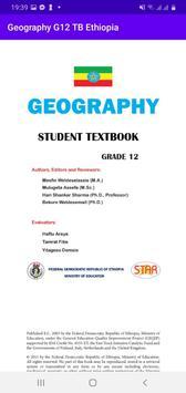 Geography Grade 12 Textbook for Ethiopia 12 Grade captura de pantalla 3