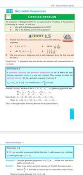 Mathematics Grade 12 Textbook for Ethiopia Grade12 Poster