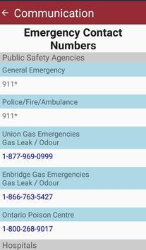 UGDSB Emergency Response Plan ảnh chụp màn hình 2