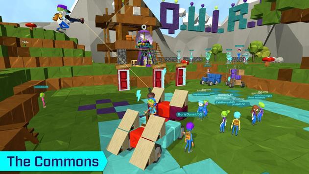 Q.U.I.R.K- Build Your Own Games & Fantasy World скриншот 1