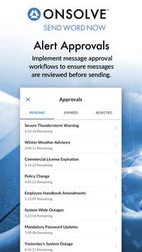 OnSolve Send Word Now Mobile capture d'écran 3