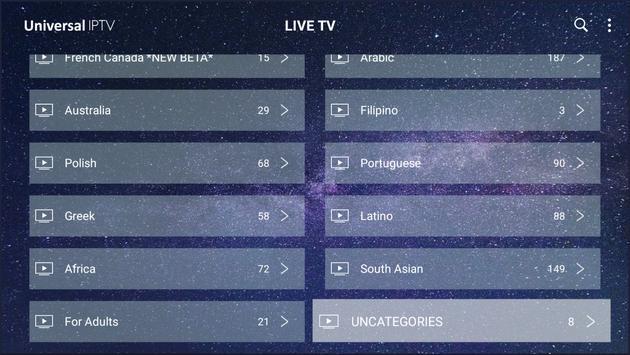 Universal IPTV screenshot 9