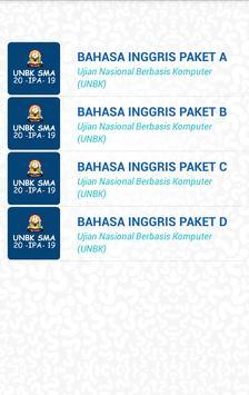 UNBK SMA IPA 2020 (Ujian Nasional) screenshot 4